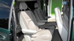 Seats are mounted on quick release mechanisms to quickly convert to a cargo van if the need ever arrises